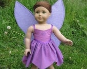 Design-Your-Own American Girl Doll / 18 Inch Doll Fairy Costume (Wings and Dress)