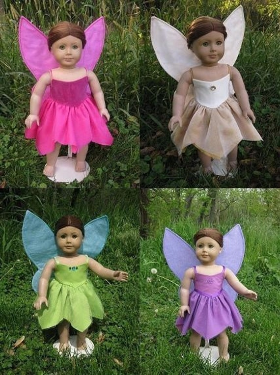 Design-Your-Own American Girl Doll Fairy Costume