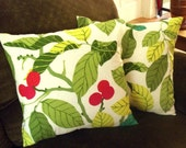 Leaf Design Pillow Covers