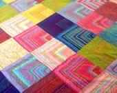 Chevron Quilt/Double-Kaffe Fassett Fabrics