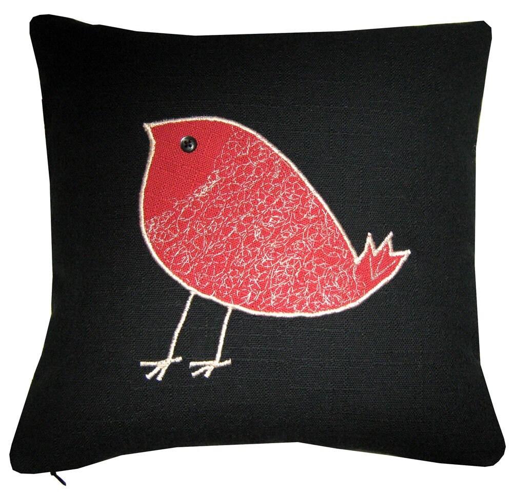 Throw Pillows Bird Design : Decorative pillow/cushion with bird design number 2