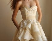 Marlowe Wedding Dress--Sample Sale--Size 4-- Reserved for Denise