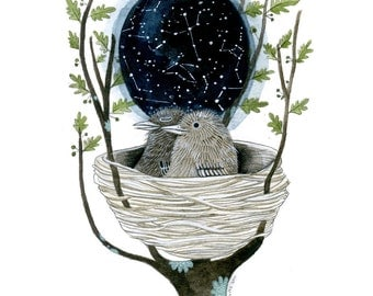 Star Map - Limited Edition Archival Giclee Print