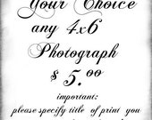 Any 4x6 Print for 5.00