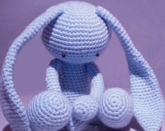Amigurumi Cute Alien Rabbit- Crochet Pattern