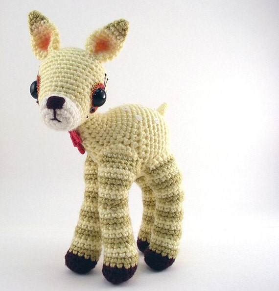 Pattern for Amigurumi Fopsy Deer