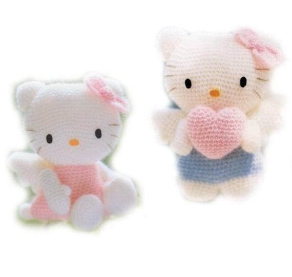Crochet Pattern Minnie Mouse Doll : Sanrio Amigurumi Hello Kitty crochet pattern Amigurumi