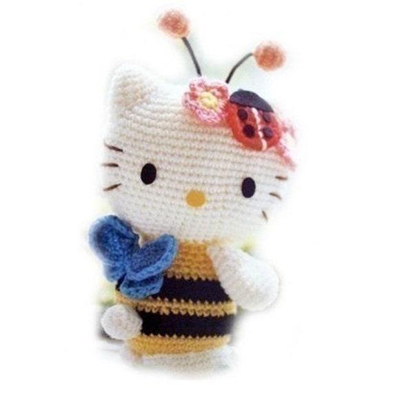 Japanese Amigurumi Doll Patterns : Pattern for Japanese Amigurumi Kitty Doll IN ENGLISH