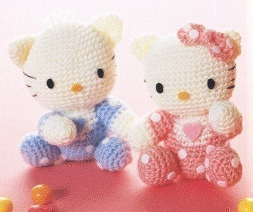 PDF-Amigurumi Crochet Pattern kitty bag | review | Kaboodle
