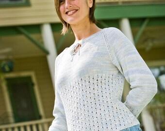 PATTERN Women's Henley Sweater