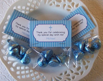 Printable First Communion Boy Mini Bag Toppers