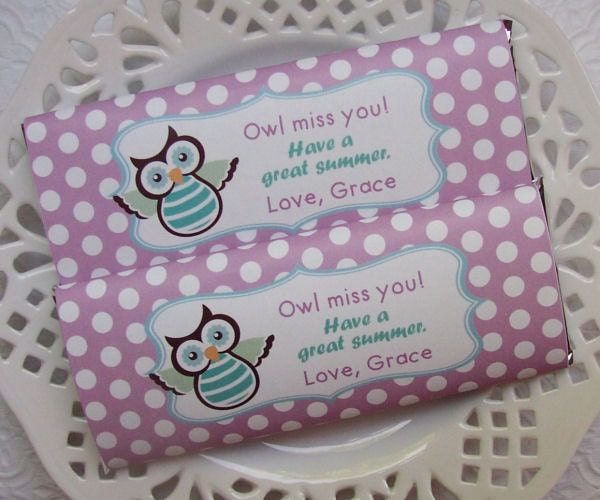 Lively image pertaining to owl miss you printable