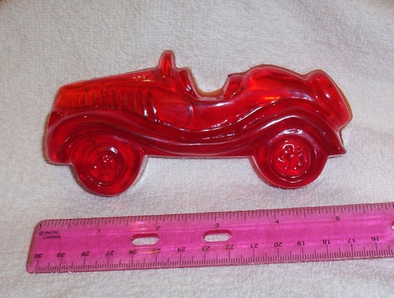 SALE 4.5 oz Antique Car Life of the Party Used Soap Mold