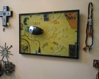 Ouija Board Wall Hanging - Computer Theme