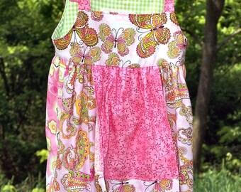 Clearance Sale  Apron Dress size 2 3 Ready to Ship