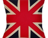 TRADITIONAL UNION JACK CUSHION\/PILLOW