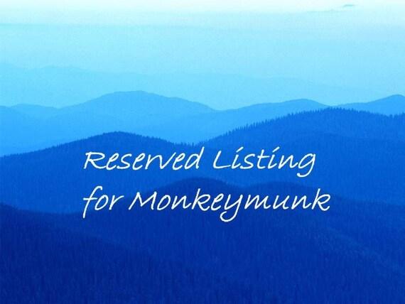 Gaia - reserved for Monkeymunk