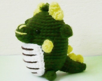 Amigurumi Mini Dragon.