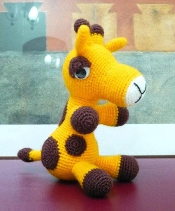 Amigurumi Giraffe .
