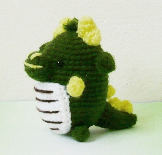 Amigurumi Mini Dragon.