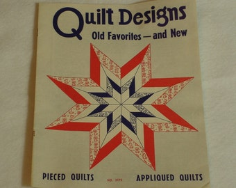 Aunt Martha's Quilt Designs Old Favorites and New Book No. 3175