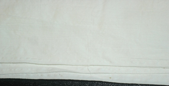 Off-white Lightweight Cotton Fabric 44 x 3 Yards