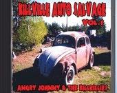 Angry Johnny and the Killbillies  -  Music CD -  Killville Auto Salvage Volume 1