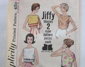 Simplicity 4513 Vintage Pattern Misses' Blouses, 1960s