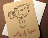 Joie de Vivre Cinema Art Card
