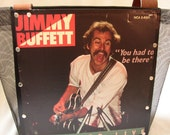Jimmy Buffett Recycled LP Record Album Cover Tote/Messenger Bag