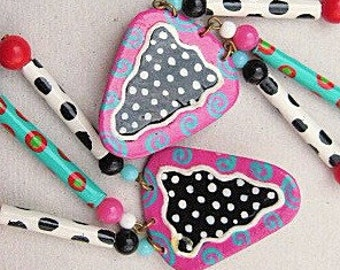 Pretty Paper Party Earrings