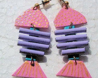 Summer Fish Earrings