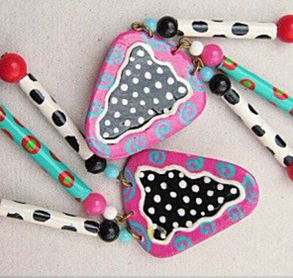 Pretty Paper Party Earrings
