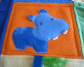 Happy Hippos - Textured Explore-mat for Tummy Time Entertainment