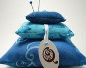 Ocean Blue Pincushion