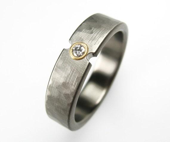 Diamond Wedding Ring Comfort Fit