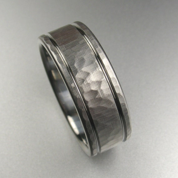 Men's Wedding Band Comfort Fit Stainless Steel