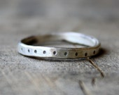 polka-dot ring