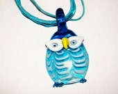 Jazzy Owl Necklace