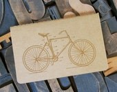 Bicycle Lined Notebook