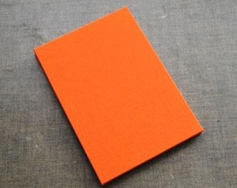 Bright Orange Accordion Photo Album