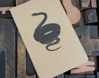 Black Snake Gocco Graph Notebook