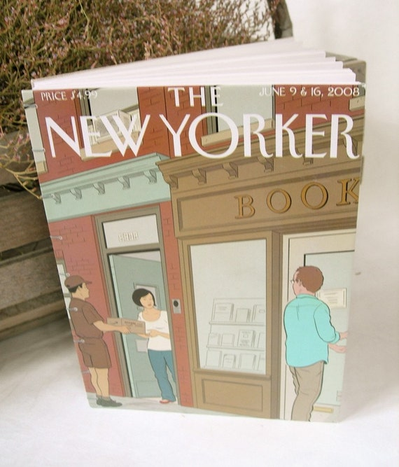 The New Yorker Coptic Bound Journal Adrian Tomine