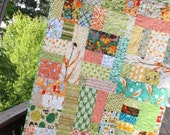 Custom Child's Quilt.  Gender Neutral, or Your Choice of Colors.