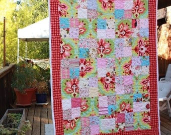 Heirloom Custom Toddler Quilt. Made from your child's outgrown clothing...