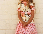 Oh So Sassy--PDF Pattern-- Daphne Dress in Central Park--