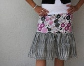 Peasant Twirly Skirt Mom and Daughter (girl ) PDF Pattern