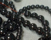 hematite round beads 4mm/50 pieces