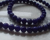 gemstone sodalite blue round beads 6mm/30 pieces//half strand