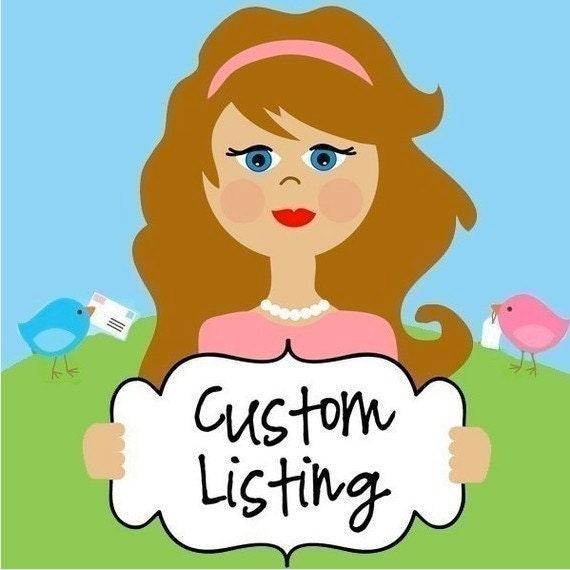 Custom Order for wendygibson